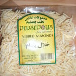 Nibbed almonds