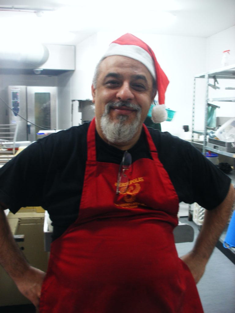 Bad Santa.... Mr. Shopkeeper has his sweet moments.